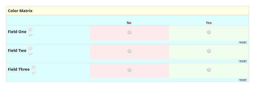 Color Matrix Example